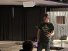 Pastor Nick preaching at Zoe Youth Ministry