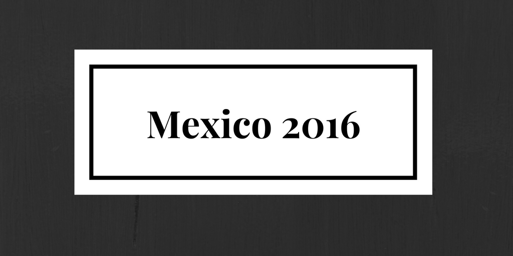 Mexico 2016 button