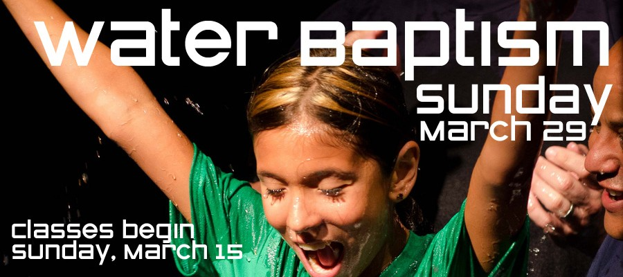 Water Baptism at Cross Points Church in Shawnee Kansas