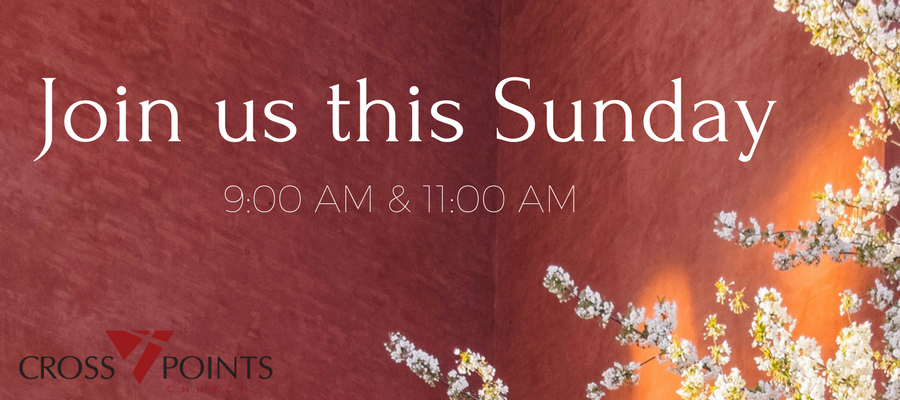 Join us this Sunday- SPRING Front webpage