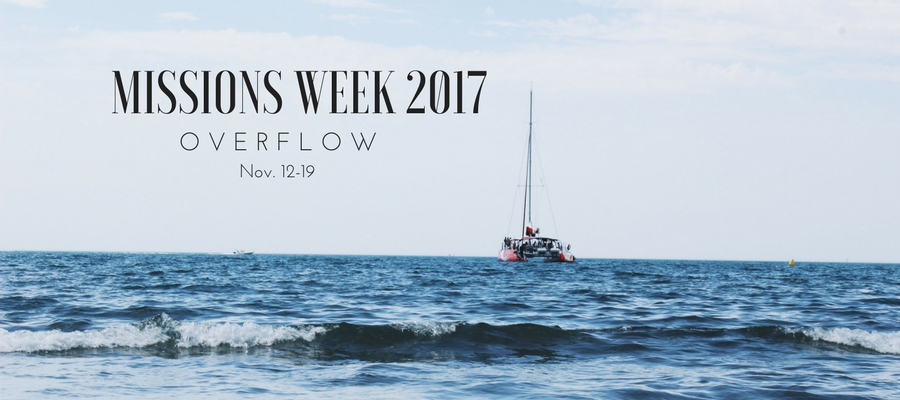 MISSIONS WEEK 2017- Bulletin Banner